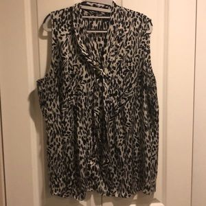 Anne Klein tank top blouse